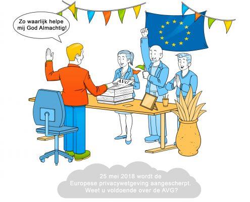 25 mei moet de handhaving op de AVG van start. Is uw bedrijf er klaar voor?